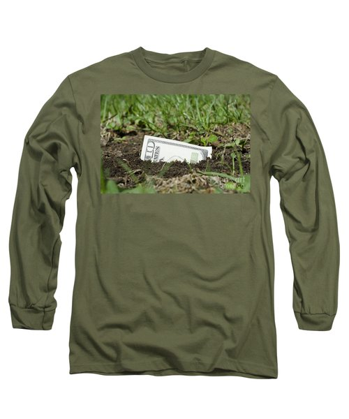 Growing Money Long Sleeve T-Shirt