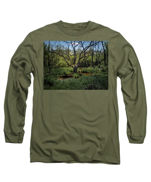 Growning From The Marsh Long Sleeve T-Shirt