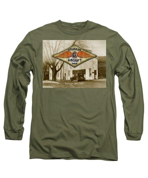 Grumman Wings Long Sleeve T-Shirt