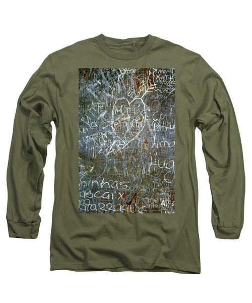 Grunge Background IIi Long Sleeve T-Shirt