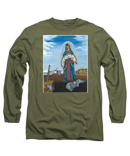 Guadalupe Visits Dali Long Sleeve T-Shirt