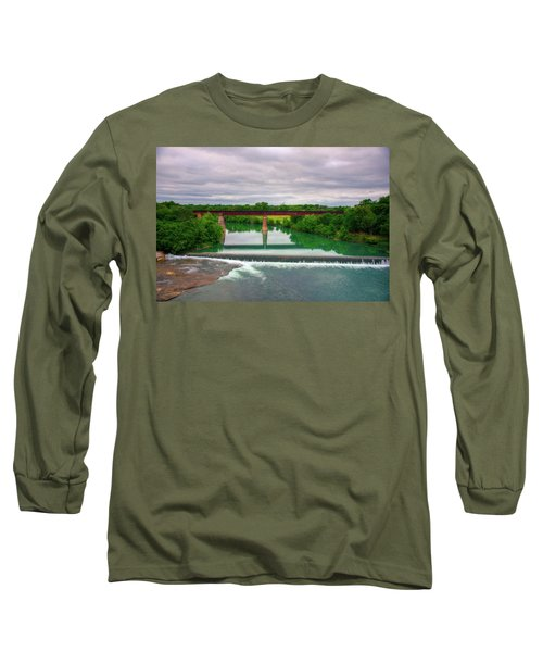 Guadeloupe River Long Sleeve T-Shirt by Kelly Wade