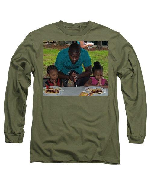 Guest Family Praying Long Sleeve T-Shirt
