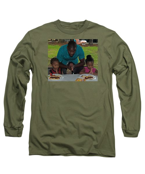 Guest Family Praying Long Sleeve T-Shirt