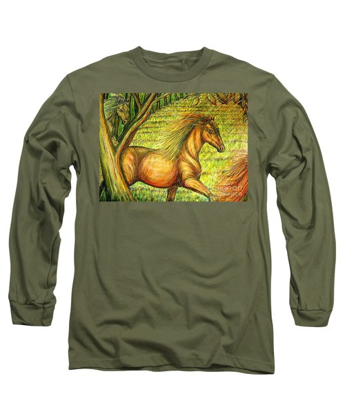 Guidance-out Of The Woods Long Sleeve T-Shirt by Kim Jones