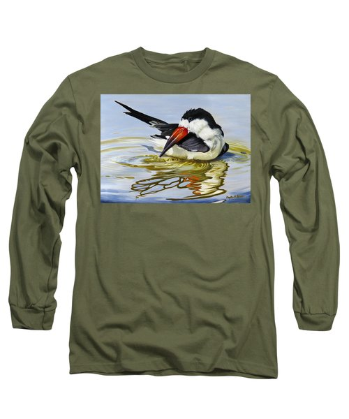 Gulf Coast Black Skimmer Long Sleeve T-Shirt
