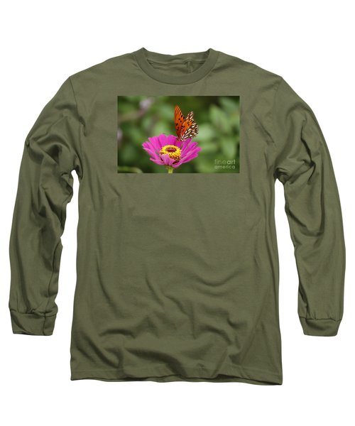 Gulf Fritillary Long Sleeve T-Shirt