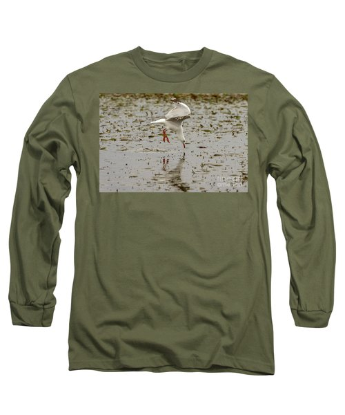 Gull Fishing 01 Long Sleeve T-Shirt