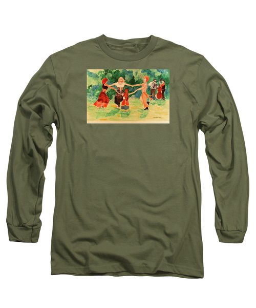 Gypsies Dancing Long Sleeve T-Shirt