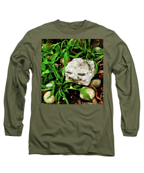 Haight Ashbury Smiling Rock Long Sleeve T-Shirt