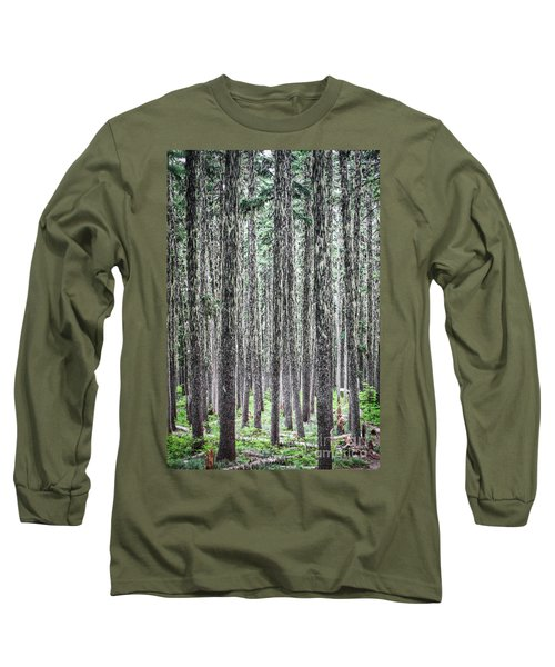 Hairy Forest Long Sleeve T-Shirt