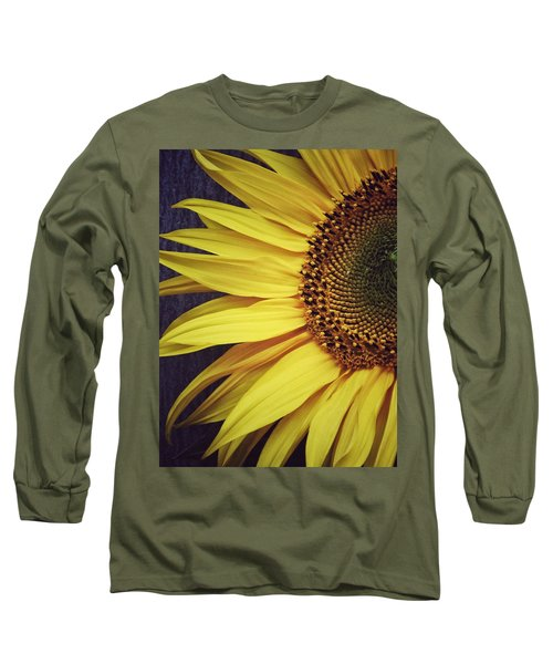 Long Sleeve T-Shirt featuring the photograph Half Yellow by Karen Stahlros