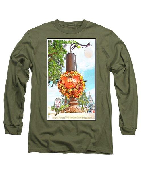 Halloween In Walt Disney World Long Sleeve T-Shirt