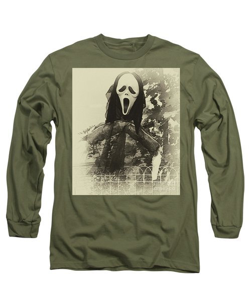 Halloween No 1 - The Scream  Long Sleeve T-Shirt