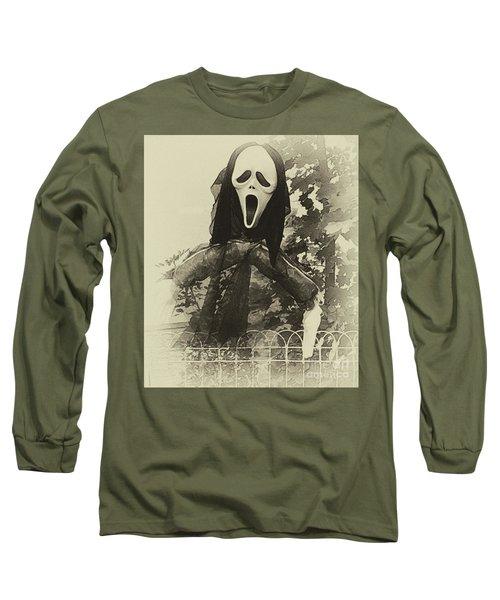 Halloween No 1 - The Scream  Long Sleeve T-Shirt