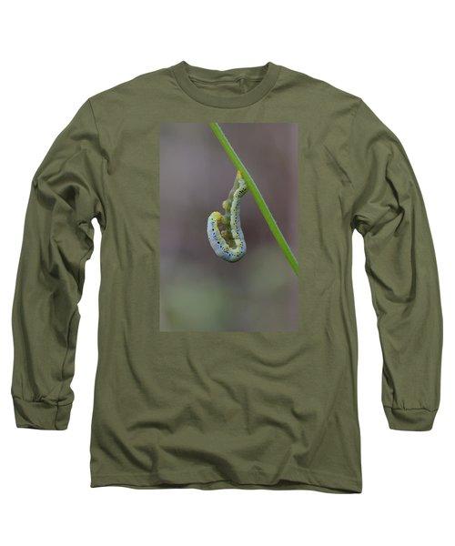 Hang, Then Reach Long Sleeve T-Shirt by Janet Rockburn