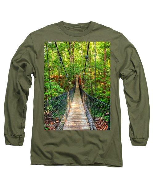 Hanging Bridge Long Sleeve T-Shirt by Ester  Rogers