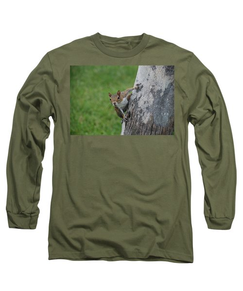 Long Sleeve T-Shirt featuring the photograph Hanging On by Rob Hans