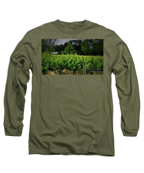 Hanging Out In The Vineyards Long Sleeve T-Shirt