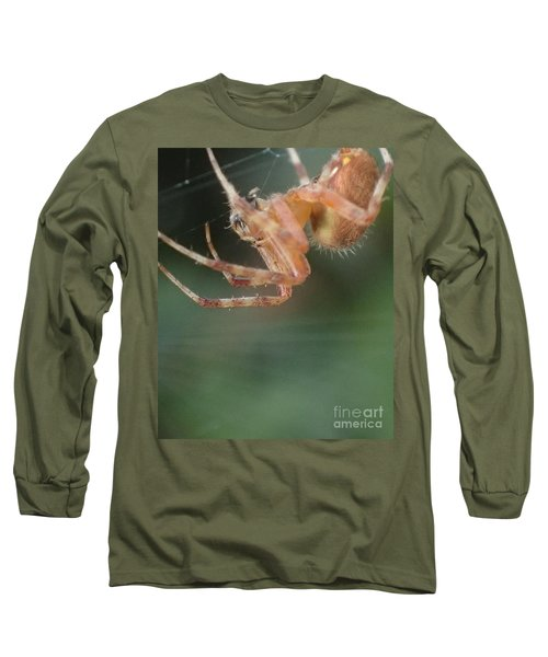 Hanging Spider Long Sleeve T-Shirt