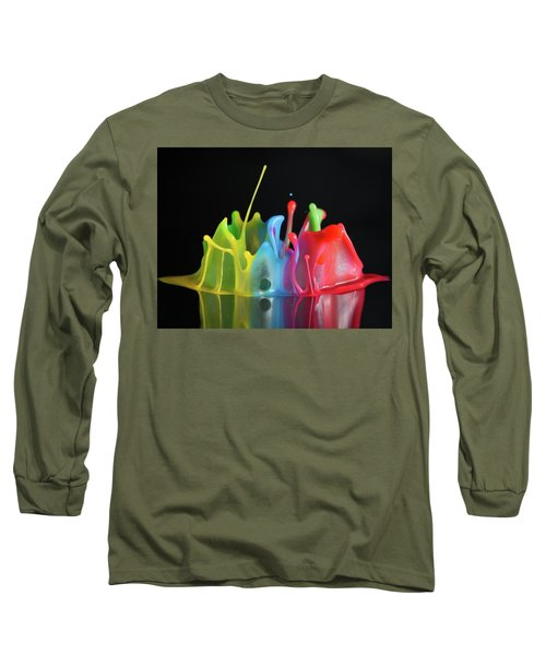 Happy Birthday Long Sleeve T-Shirt by William Lee