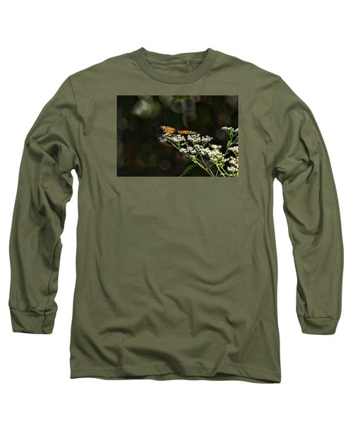 Long Sleeve T-Shirt featuring the photograph Happy Monarch by Rick Friedle
