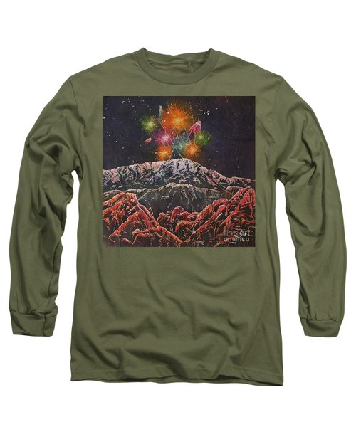 Happy New Year From America's Mountain Long Sleeve T-Shirt