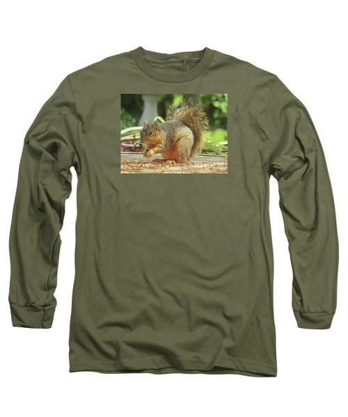 Happy Squirrel Long Sleeve T-Shirt