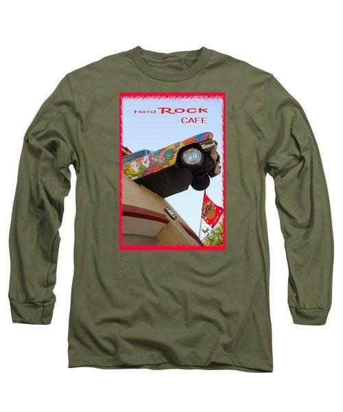Hard Rock Cafe N Y Long Sleeve T-Shirt by Bob Pardue