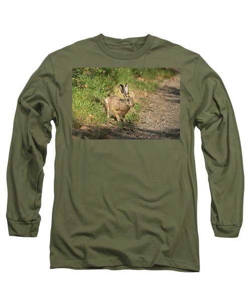 Hare In The Woods Long Sleeve T-Shirt