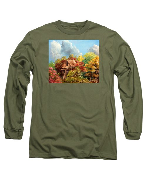 Long Sleeve T-Shirt featuring the painting Hariet by Jason Sentuf
