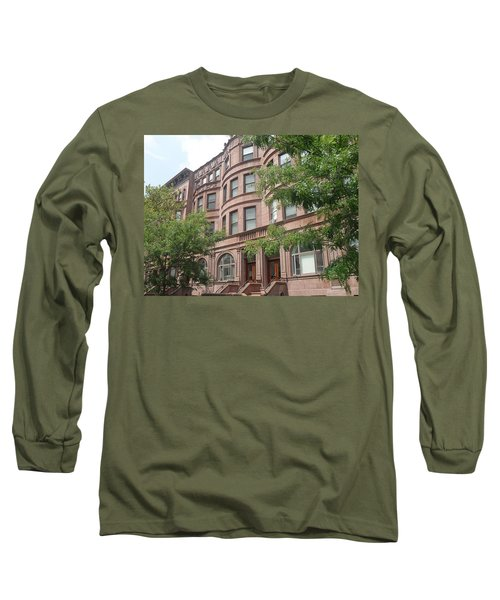Harlem Brownstones Long Sleeve T-Shirt