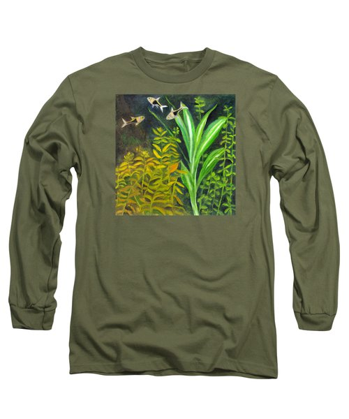 Harlequin Rasboras Long Sleeve T-Shirt