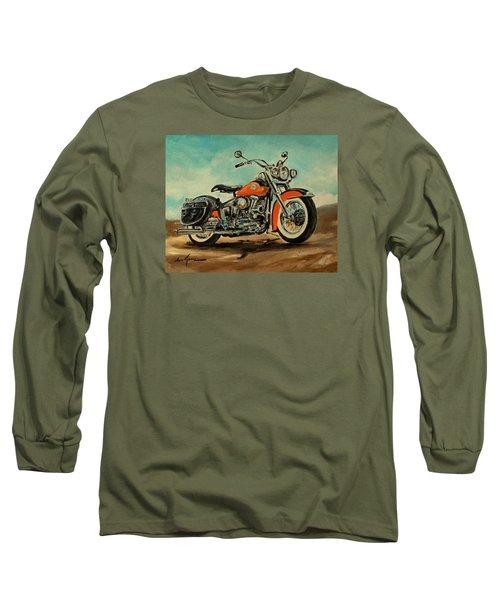 Harley Davidson 1956 Flh Long Sleeve T-Shirt