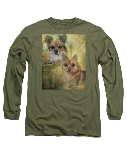Harley Girl N Bear Long Sleeve T-Shirt