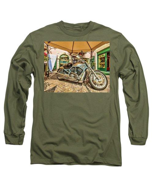 Harley Long Sleeve T-Shirt by Roy McPeak