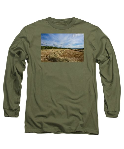Long Sleeve T-Shirt featuring the photograph Harvest by Susi Stroud