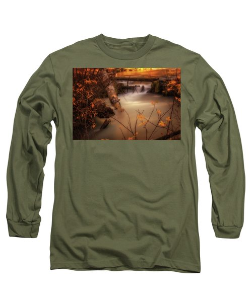 Hat Creek In Gold Long Sleeve T-Shirt