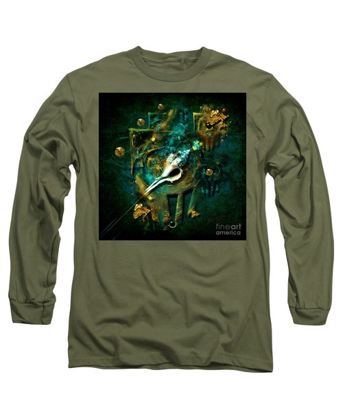 Long Sleeve T-Shirt featuring the painting Hatpin by Alexa Szlavics