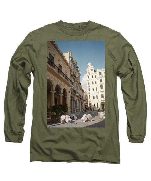 Havana Vieja Long Sleeve T-Shirt by Quin Sweetman