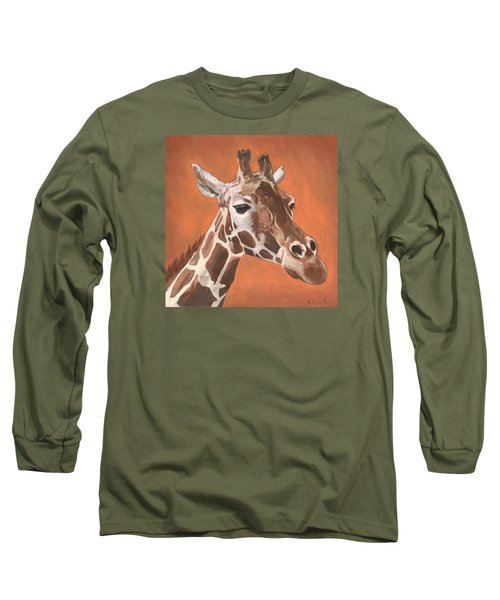 Have A Long Reach Long Sleeve T-Shirt by Nathan Rhoads