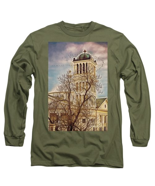 The Church On Oak Street Long Sleeve T-Shirt
