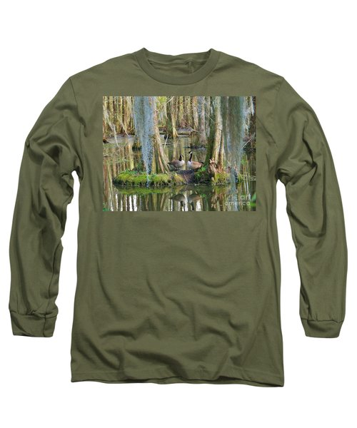 Haven Long Sleeve T-Shirt by Sheila Ping