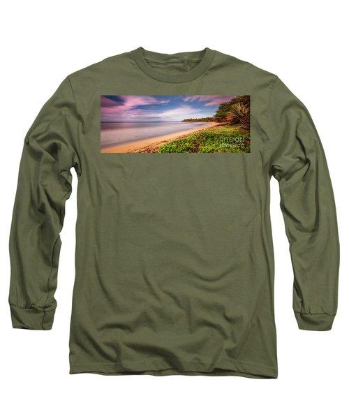 Hawaii Pakala Beach Kauai Long Sleeve T-Shirt