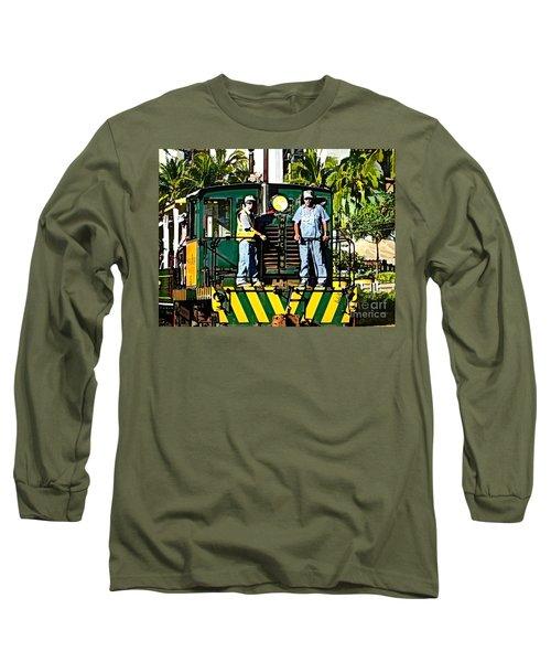 Hawaiian Railway Long Sleeve T-Shirt