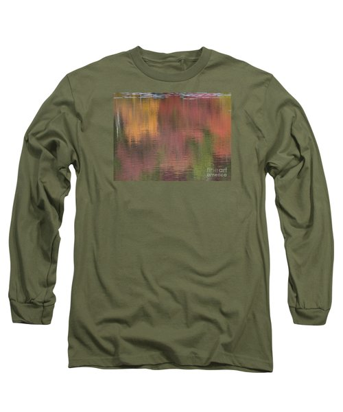 Hawkins Autumn Abstract II 2015 Long Sleeve T-Shirt
