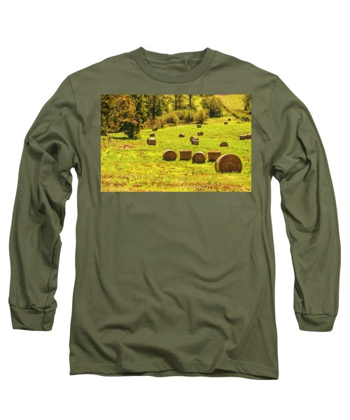 Hay Bales 2 Long Sleeve T-Shirt