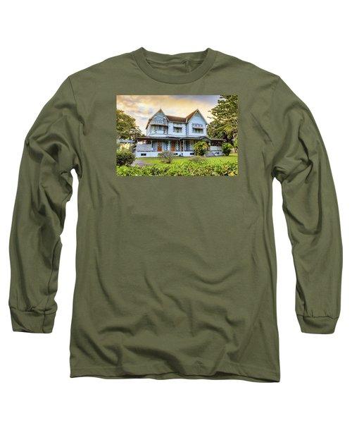 Hayes Court Long Sleeve T-Shirt by Nadia Sanowar