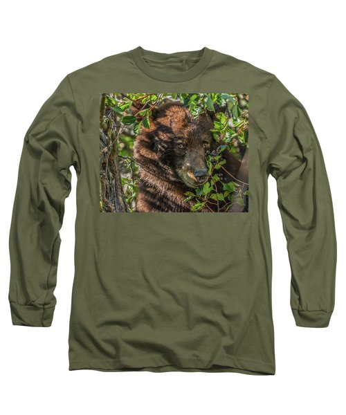 He Was Hiding In A Tree Long Sleeve T-Shirt
