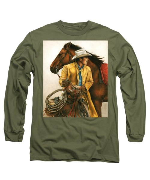 Heading Out Into The Storm Long Sleeve T-Shirt